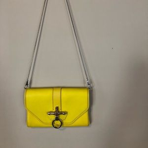 Givenchy Yellow Obsedia Clutch or Bag NWT RARE